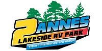 2Annes Lakeside RV Park on Cameron Lake