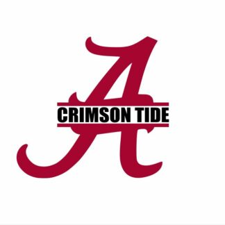 Crimson Tide SVG, DXF and EPS Cutting Files Silhouette vinyl cut Files, for Cameo and Cricut Explore machines