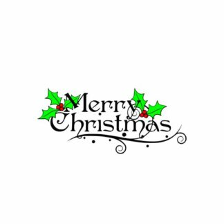 Christmas Holly svg, Merry Christmas svg, Holly svg, Word and Phrase, cutting file svg, dxf, eps, Cricut Design Space, Silhouette Studio