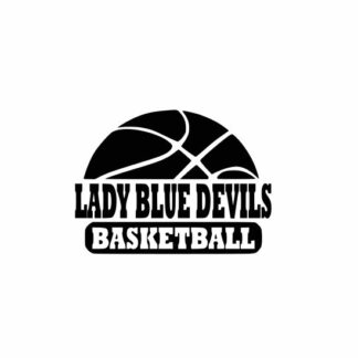 Blue Devils Basketball svg, Lady Blue Devils svg, Blue Devils svg cricut, Basketball svg, cutting file, svg, dxf, eps, Cricut Design Space, Cameo Silhouette Studio