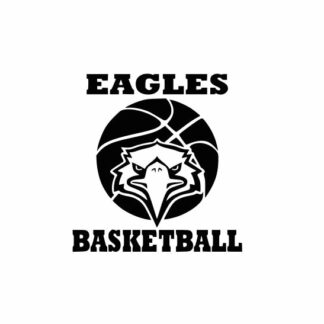 Eagles Basketball svg, Eagles svg, Eagles svg cricut, Basketball svg, cutting file, svg, dxf, eps, Cricut Design Space, Cameo Silhouette Studio