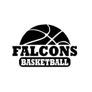 Falcons Basketball svg, Falcons svg, Falcons svg cricut, Basketball svg, cutting file, svg, dxf, eps, Cricut Design Space, Cameo Silhouette Studio