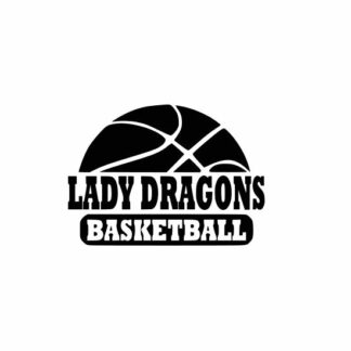 Lady Dragons Basketball svg, Dragons Basketball svg, Dragons svg, cutting file, svg, dxf, eps, Cricut Design Space, Cameo Silhouette Studio
