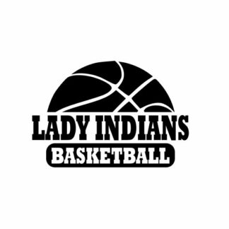 Lady Indians basketball svg, Indians svg, Indians svg cricut, cutting file, svg, dxf, eps, Cricut Design Space, Cameo Silhouette Studio