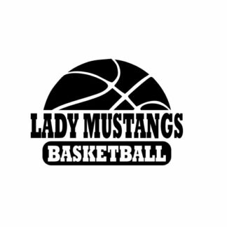 Lady Mustangs Basketball svg, Mustangs svg, Mustangs svg cricut, cutting file, svg, dxf, eps, Cricut Design Space, Cameo Silhouette Studio