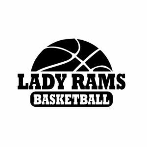 Lady Rams Basketball svg, Rams svg, Rams svg cricut, cutting file, svg, dxf, eps, Cricut Design Space, Cameo Silhouette Studio