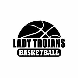 Lady Trojans Basketball svg, Trojans svg, Trojans svg cricut, cutting file, svg, dxf, eps, Cricut Design Space, Cameo Silhouette Studio