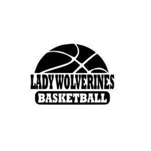 Lady Wolverines Basketball svg, Wolverines svg, Wolverines svg cricut, cutting file, svg, dxf, eps, Cricut Design Space, Cameo Silhouette Studio