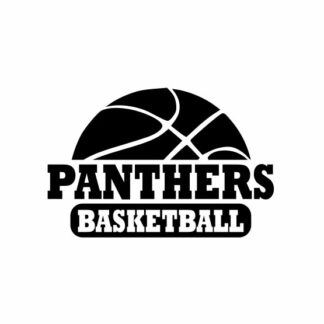 Panthers basketball svg, Panthers svg, Panthers svg cricut, Basketball svg