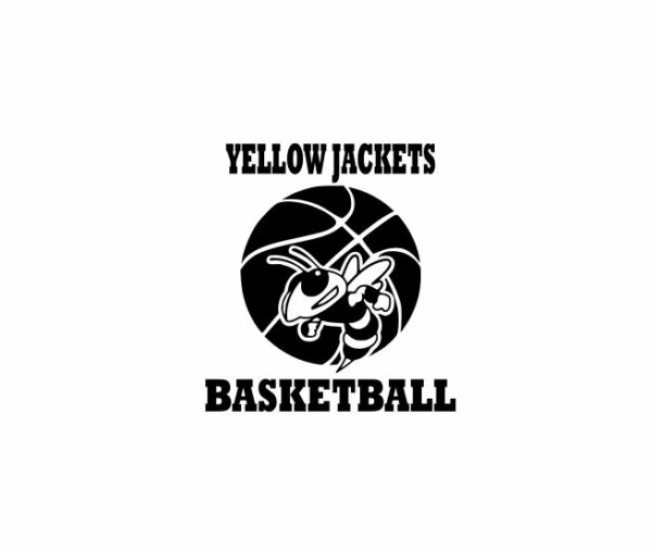 Yellow Jackets Basketball Designs,Yellow Jackets svg,Yellow Jacket Cricut