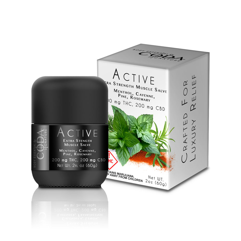 Coda Signature ACTIVE Extra Strength Muscle Salve Image