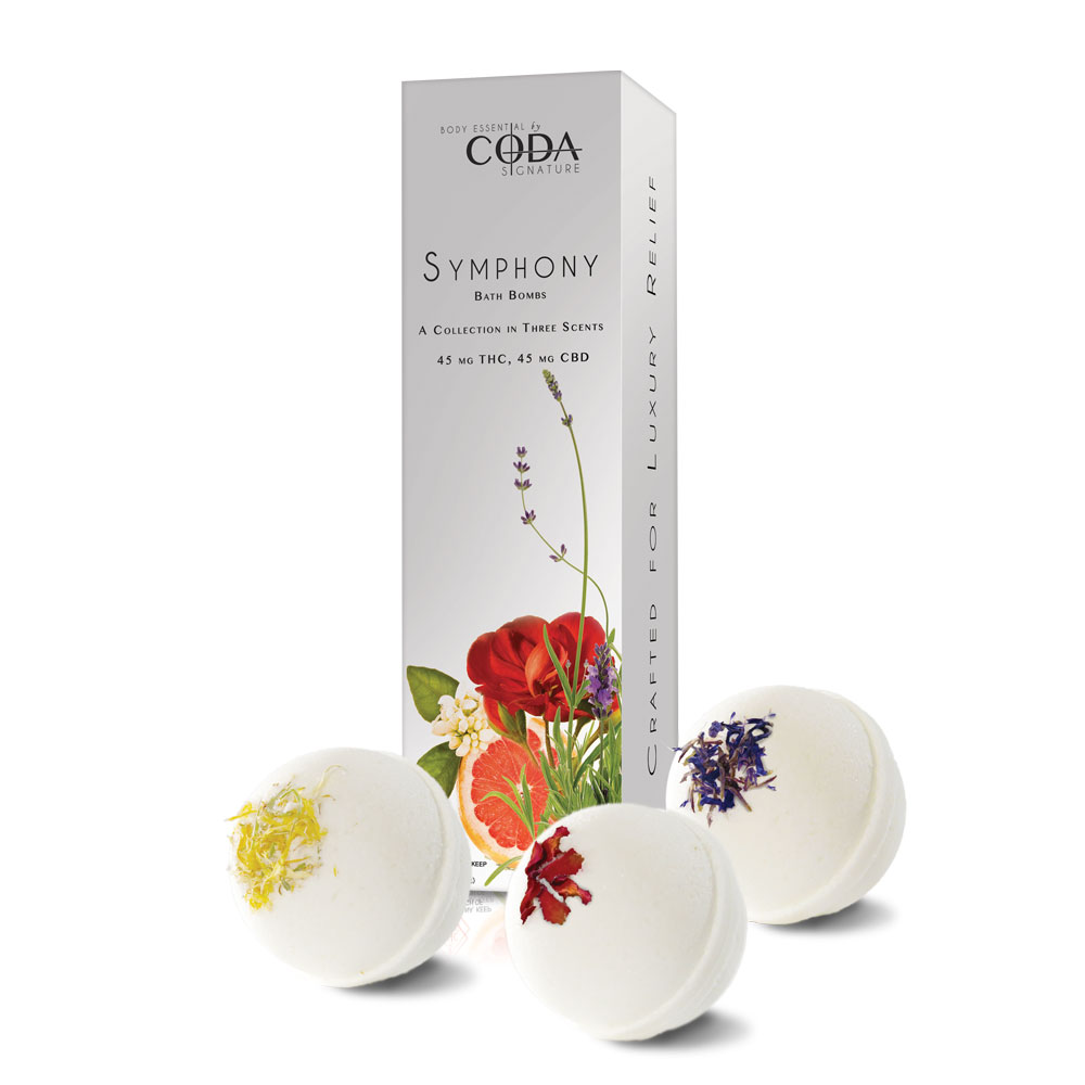Coda Signature Symphony Collection Bath Bombs Image