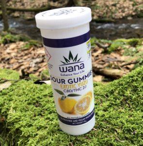 Wana Brand – Exotic Yuzu 2:1 CBD/THC Gummies Review