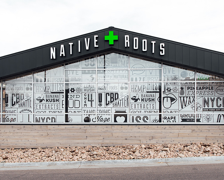 Native Roots Storefront