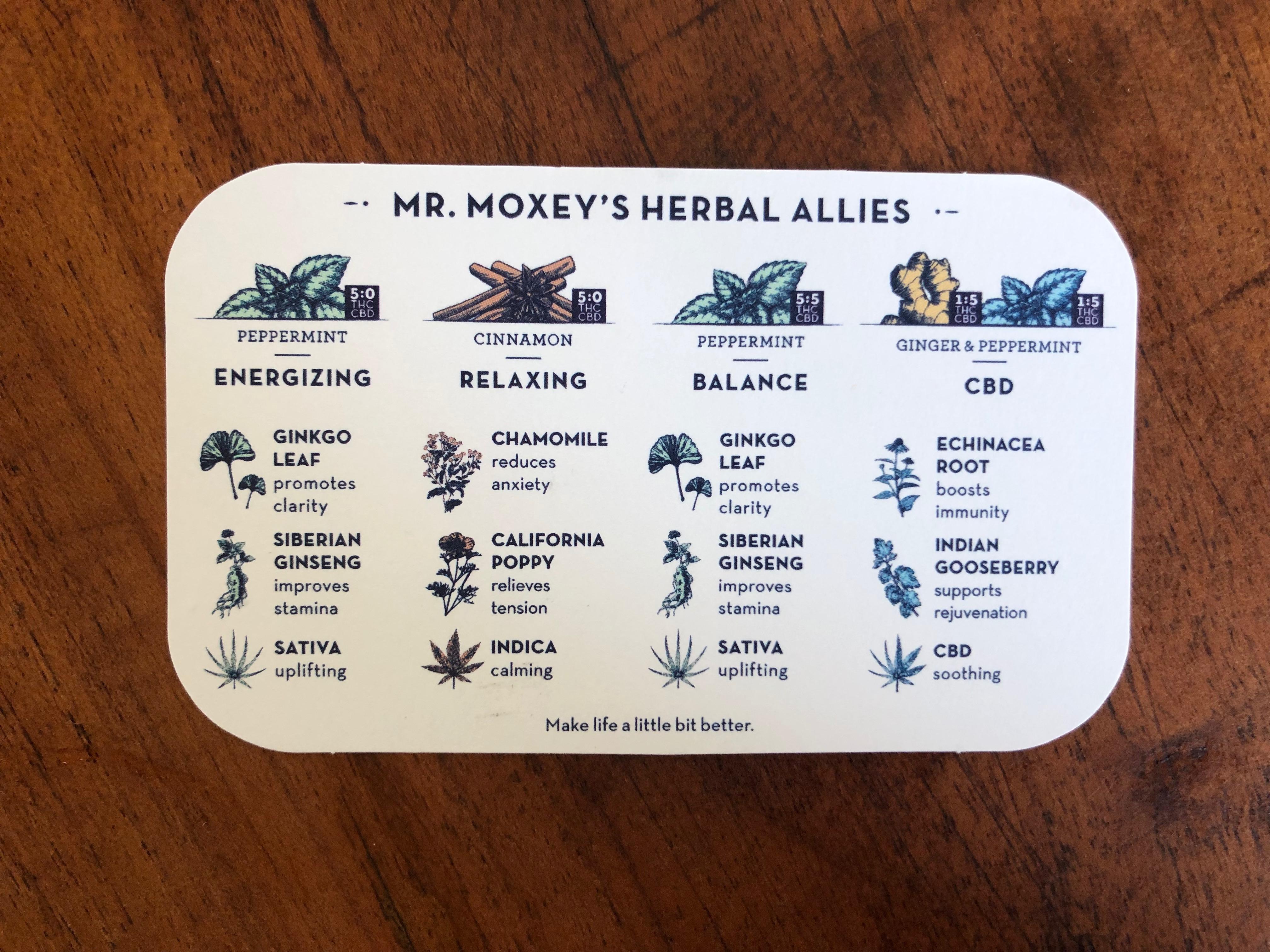 Mr. Moxies Flavors