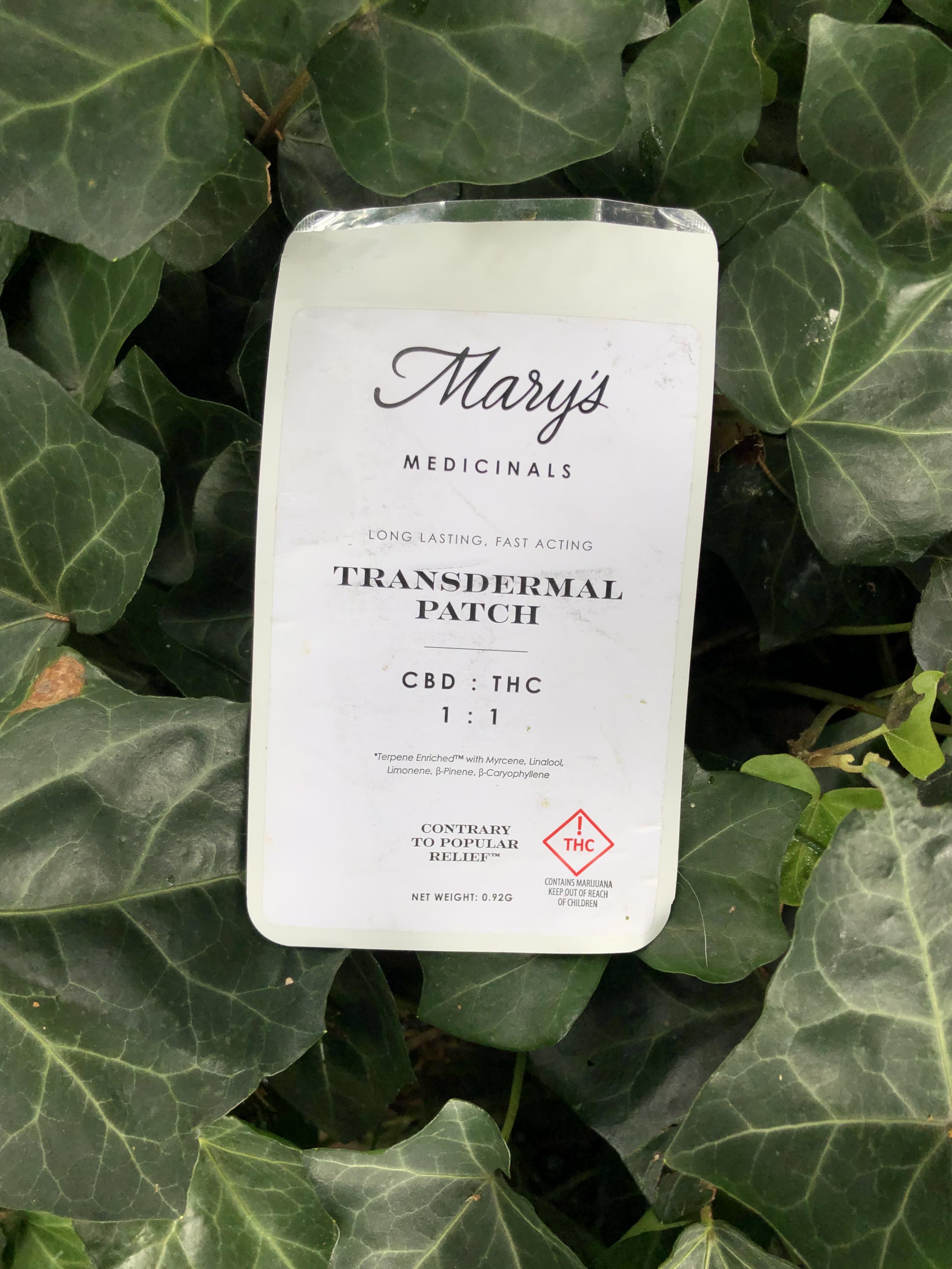 Mary's Medicinals Transdermal Patch