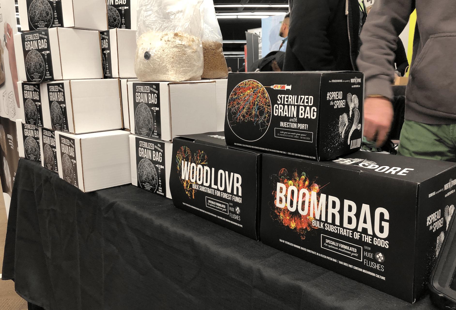 Mushroom Growing Bags