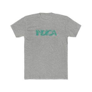 'Indica' Men's Cotton Crew Tee