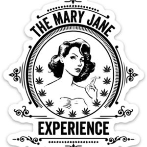 Mary Jane Experience Sticker Original
