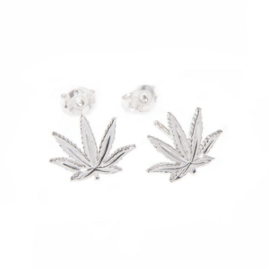 Sterling Silver Sativa Lear Classic Earrings – Stud