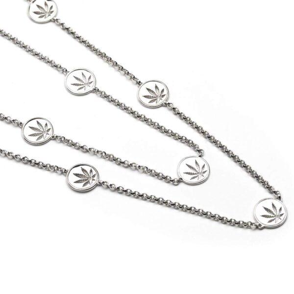 Cannabis Fashion Necklace