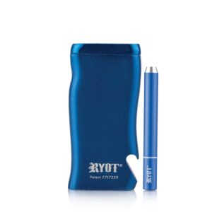 Super Magnetic Dugout With One Hitter – Blue