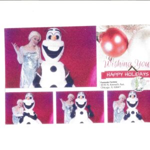 Balloon Twisting Olaf frozen snowman, Elsa is a Fun face painter for birthday parties, school, church and corporate events. Olaf offers quick designs for large crowds or elaborate wow designs for smaller parties.