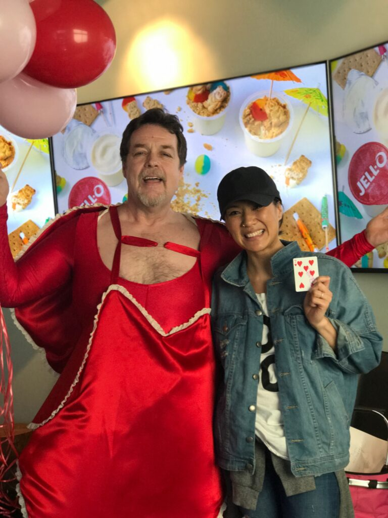 Valentine's Day Magic Grams: Hairy Fairy, Balloon Twister, Face Painter, Party Characters.