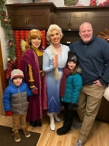 Elsa, Anna and Olaf. Best Party Characters in Chicago, IL. [[Kids Magic Show]] [[Party Characters Chicago]] We booked Anna and Elsa for my daughter's 3rd birthday party. 5 STARS