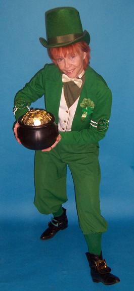 "Providing The Legend of the Leprechauns ☘️ The Legend of the Leprechaun is alive and well and perfect for St. Patrick's Day revelers. Legend says: The person who captures the little fellow and got his ""Pot O Gold"""