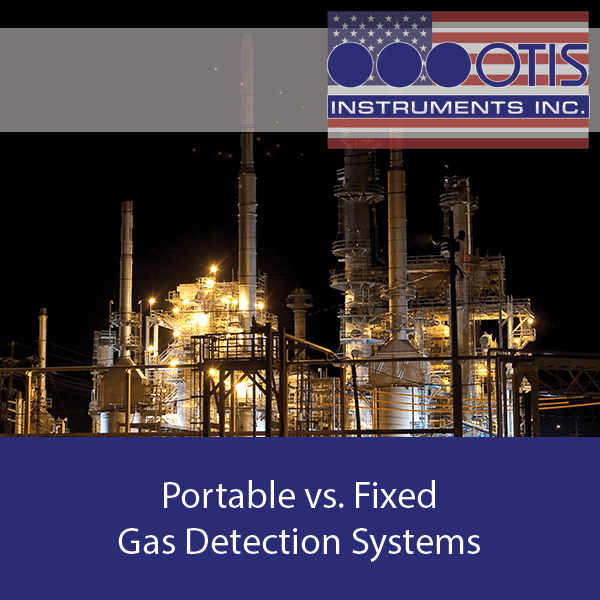 Portable vs. Fixed Gas Detection Systems - Otis Instruments