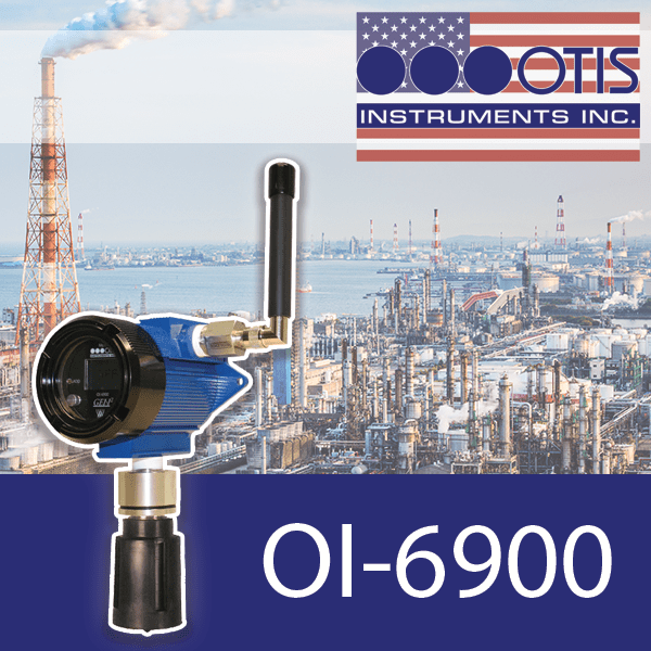 OI-6900 for the Detection of Combustible and Toxic Gases - Otis Instruments