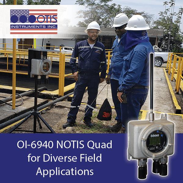 OI-6940 NOTIS Quad for Diverse Field Application - Otis Instruments