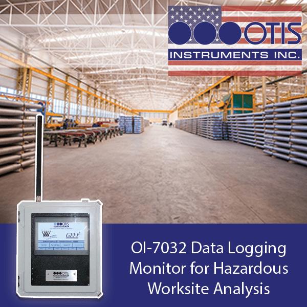 OI-7032 Data Logging Monitor for Hazardous Worksite Analysis - Otis Instruments