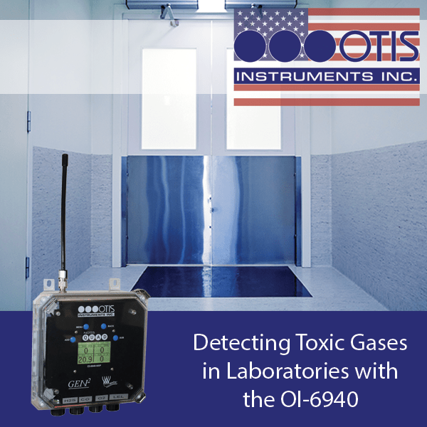 Detecting Toxic Gases in Laboratories with the OI-6940 - Otis Instruments