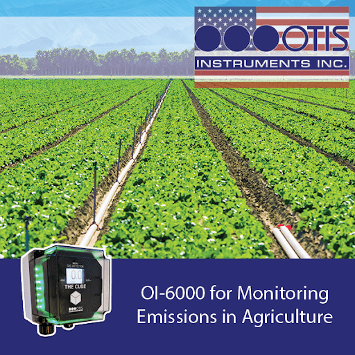 OI-6000 for Monitoring Emissions in Agriculture - Otis Instruments