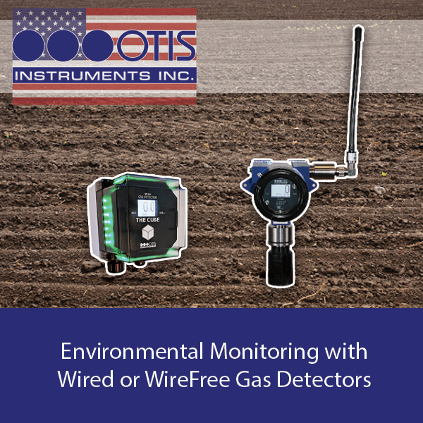Environmental Monitoring with Wired and WireFree Gas Detectors - Otis Instruments