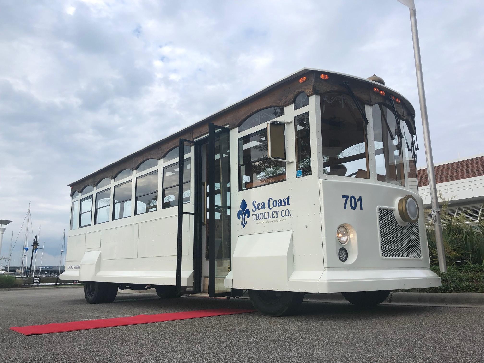 Sea Coast Wilmington Trolley