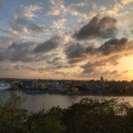 Havana Harbor with Cruise ship