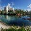 Atlantis panorama with lagoon
