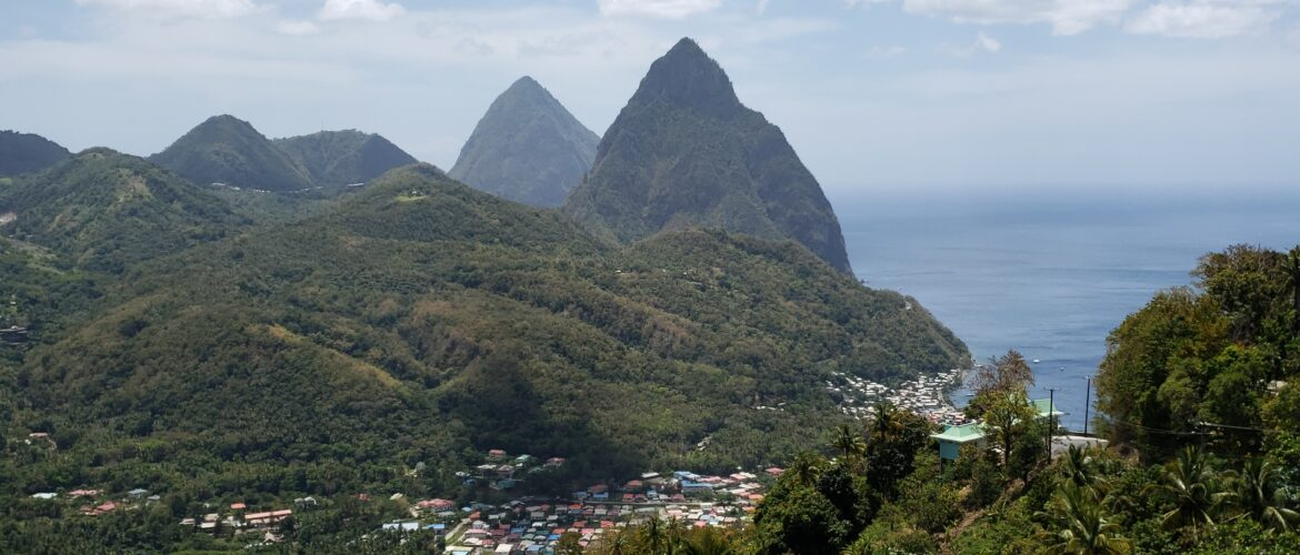 Pitons North St Lucia