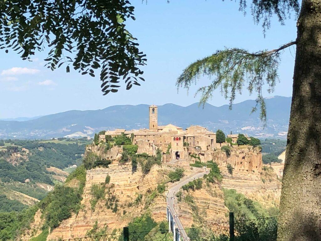 Civita di Bagnoregio From A Distance