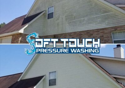 Low-Pressure Residential House Washing