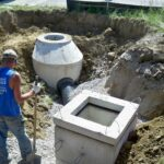 underground sewer excavating project gallery