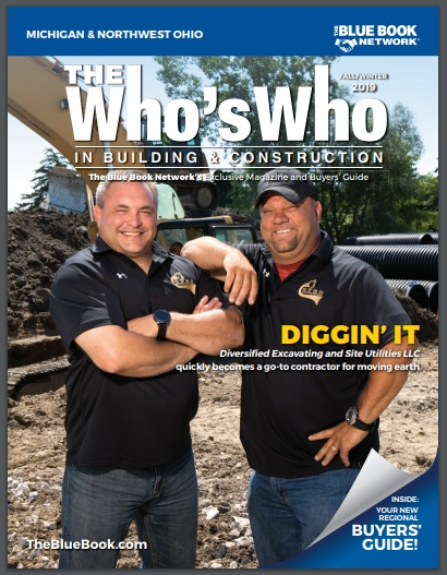 Article_Cover_for_Whos_Who_Building_Construction_Edition_ Fall_Winter_2019_Diversified_Excavating_and_Site_Utilities_2019