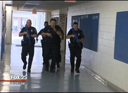 """Active Shooter"""" System Drill"""