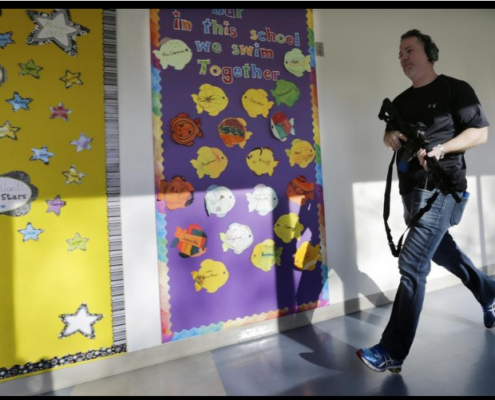 School_demonstrates_'active_shooter'_system