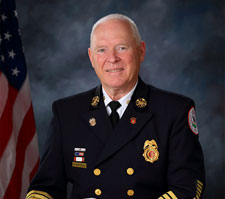 Albert B. Beardsley, Fire Chief, (Retired)