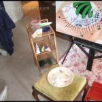 Kevin Hoffman Painting Setup College
