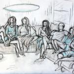 Maui Family Sketch
